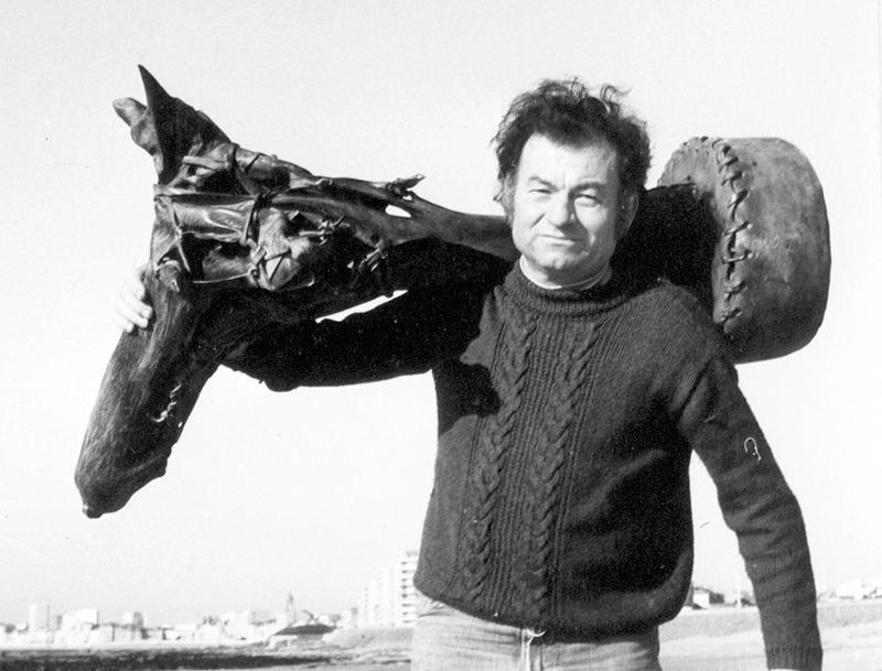 Michel Raimbaud Petit cheval 1974