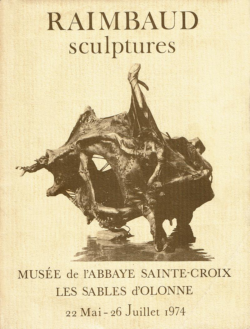 Catalogue Raimbaud-Sculptures 1974